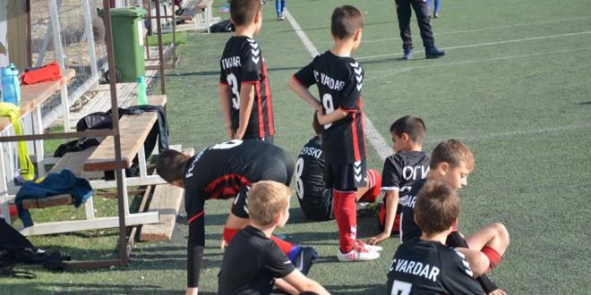 Генерација 2010 на ФК Вардар без победа во денешното коло од детската лига