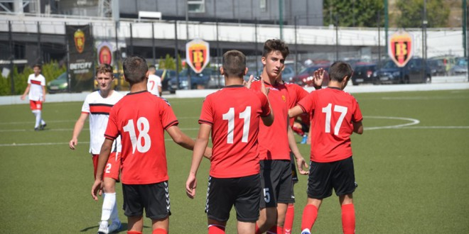 Повик за настап во репрезентацијата до 16 години, за седум играчи од ФК Вардар