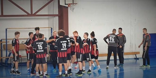Младинскиот тим на Вардар Јуниор минимално поразен во гости од Металург-2