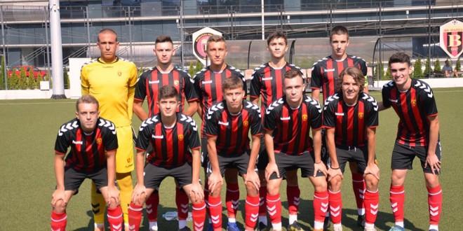 Четири екипи во борба за трофејот во кадетската фудбалска лига, преглед на полусезоната за вардаровите кадети