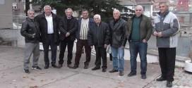 (ФОТО) Легендарниот тренер на БК Вардар и Балканец на дружба со своите ученици