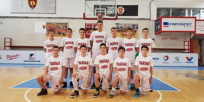 Неверојатен викенд за кошаркарските тимови на Вардар, осум младински победи на исто толку мечеви