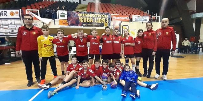 Регионалната школа на Вардар, РК Седмерец од Охрид реди успеси и освојува трофеи