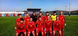 Јаневски постигна гол за Македонија У16, во стартниот состав беше Стојановски