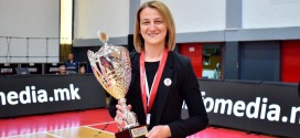 Жаклина Стојановска: Тренер на годината за мене  е значајно признание, се трудам да пренесам знаење на помладите