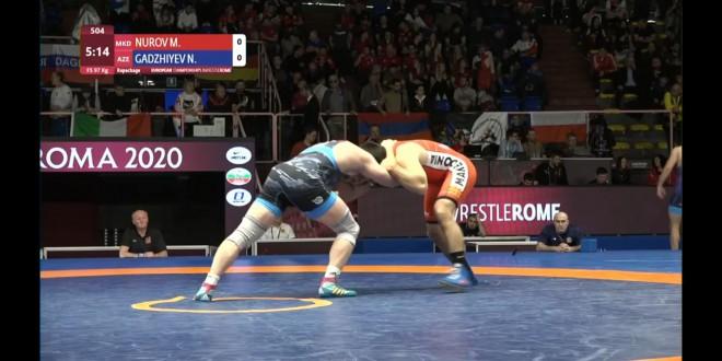 (ВИДЕО) Нуров заврши на 7.позиција на ЕП во Рим