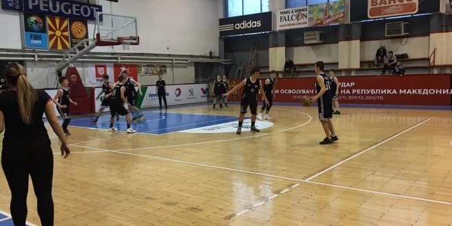 """Резултати од  младинската кошаркарска лига """"Вардар'  играна овој викенд"""