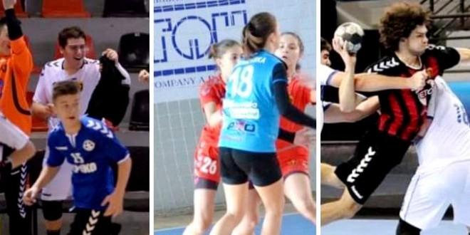 Четири меча за младите машки и женски екипи на РК Вардар