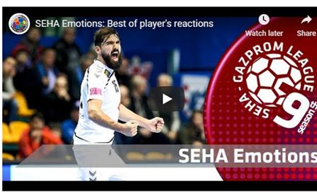 (ВИДЕО) СЕХА-емоции, најдобрите реакции на играчите