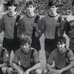 Стојат (од лево): Лазаров, Станојковиќ, Јаневски, Џипунов, Канатларовски, Грошев и Најдовски. Доле (од лево): Симоновски, Савевски, Петров, Панчев и Бабунски.
