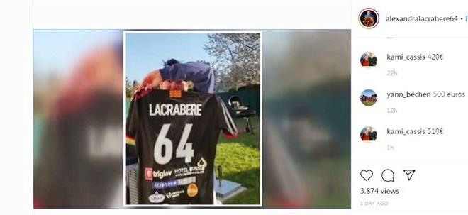 Лакрабер  за 760 евра го продаде дресот на  Вардар за помош на загрозените од Корона вирусот