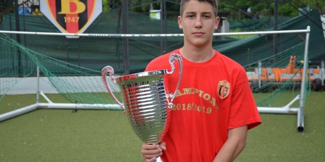 Георг Стојановски: Најголема инспирација е мојот дедо, покрај Вардар, еден ден сакам да заиграм и во Премиер Лигата