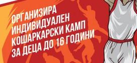Kошаркарскиот клуб Вардар: Од 1 јуни започнуваме со индивидуални тренинзи