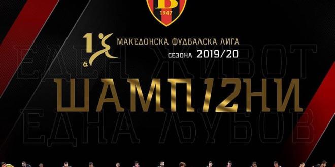 (ФОТО) Играчите на ФК Вардар си ја честитаа Шампионската титула