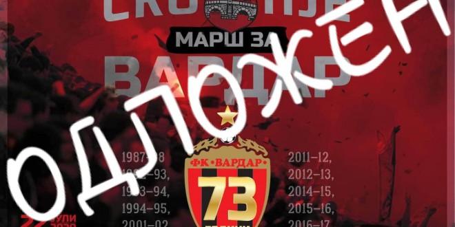 Комити: Во наредните денови ќе се решава судбината на ФК Вардар