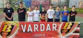 (Фото) Летен кошаркарски камп на Вардар