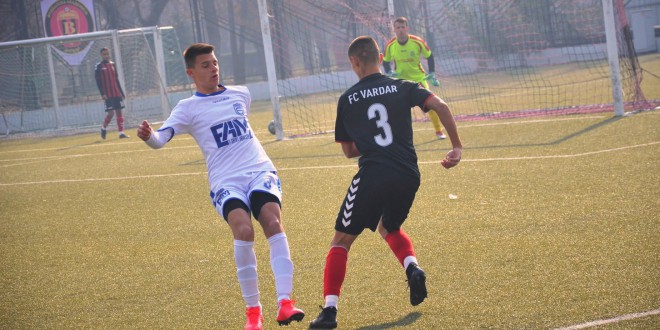 """Мало """"изненадување"""" , кадетите на ФК Вардар елиминирани од Њу Старс во Купот"""