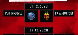 Одложени натпреварите на РК Вардар против ПСЖ и Порто