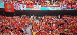 Македонските навивачи меѓу најдобрите на ЕП!! (ВИДЕО)