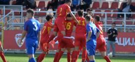 Стојилевски дел од Македонија У17 за пријателските натпревари со Романија