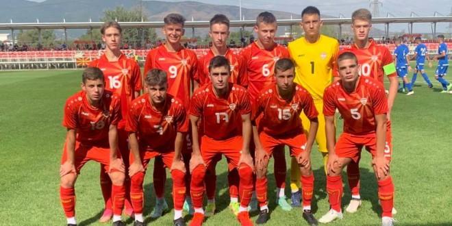 Македонија У17 го победи Кипар, Стојилевски постигна гол